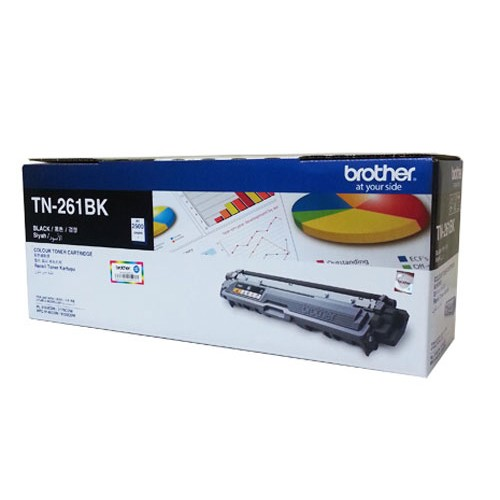 BROTHER Black Toner Catridge [TN-261BK] - Toner Printer Brother